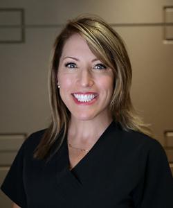 Headshot of Debbie, a dental hygienist